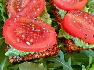 tomato avocado sandwich